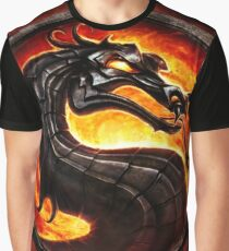 Mortal Kombat logo Graphic T-Shirt