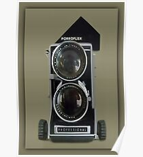 ☜ ☝ ☞ ☟ Mamiya C33 Professional Camera Picture/Card☜ ☝ ☞ ☟   Poster