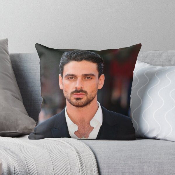 Michele Morrone official  Throw Pillow