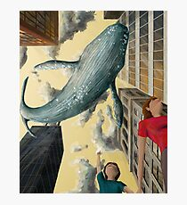 Whale In The Sky Photographic Print