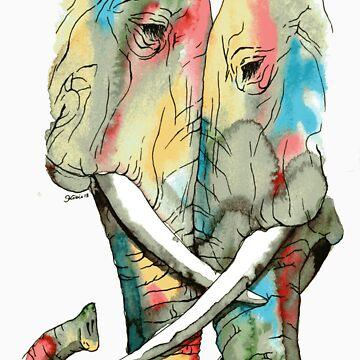 Elephants by k-bryant88