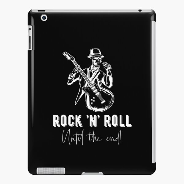 Rock 'n' Roll Funny Quote Retro Design Dead Singer Gift Idea iPad Snap Case