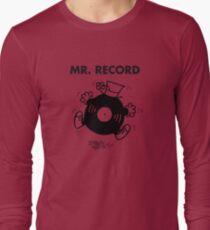 Mr. Record Long Sleeve T-Shirt