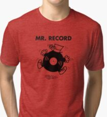 Mr. Record Tri-blend T-Shirt