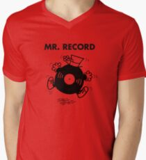 Mr. Record Men's V-Neck T-Shirt