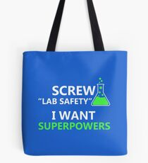 Screw Lab Safety Tote Bag