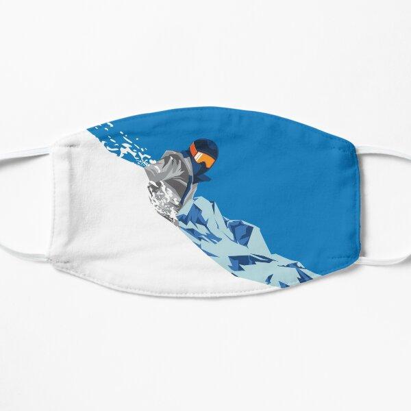 Downhill Skier Flat Mask