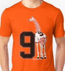Belt Giraffe (Number Version) T-Shirt