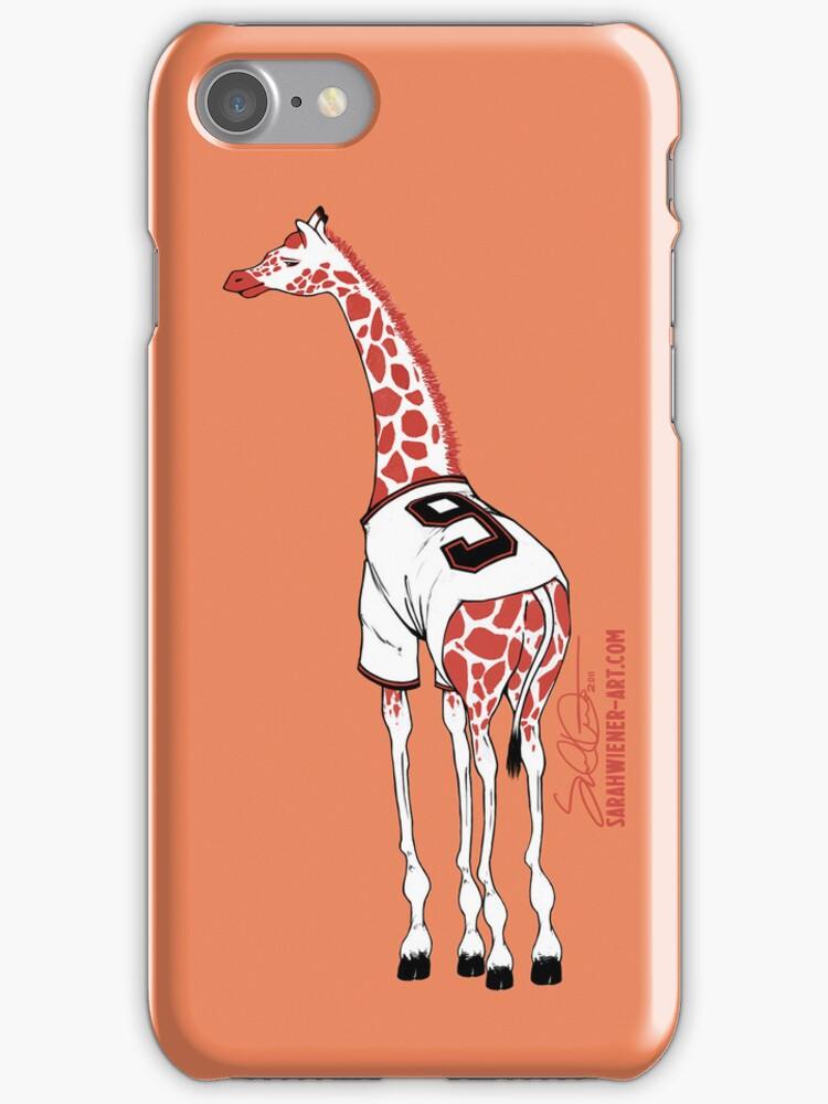 Belt Giraffe (Orange/iPhone 5) by swiener
