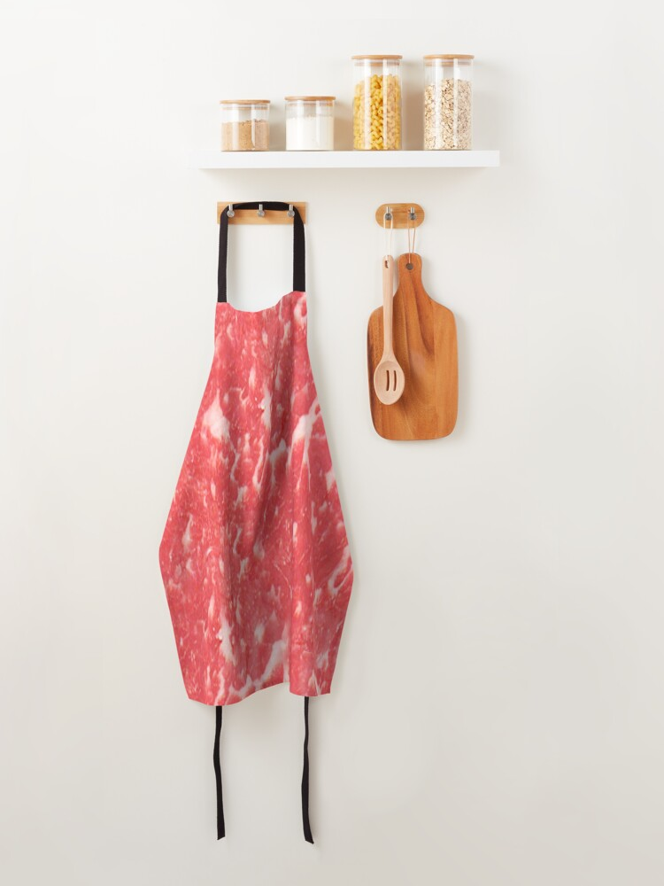 Alternate view of LOVE STEAK MEAT LOVER GRILLING ORIGINAL Apron