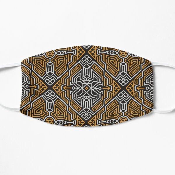 Tribal Art Pattern 19 Flat Mask