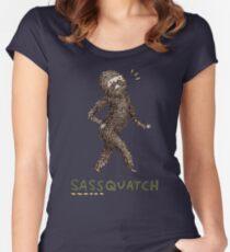 Sassquatch Women's Fitted Scoop T-Shirt