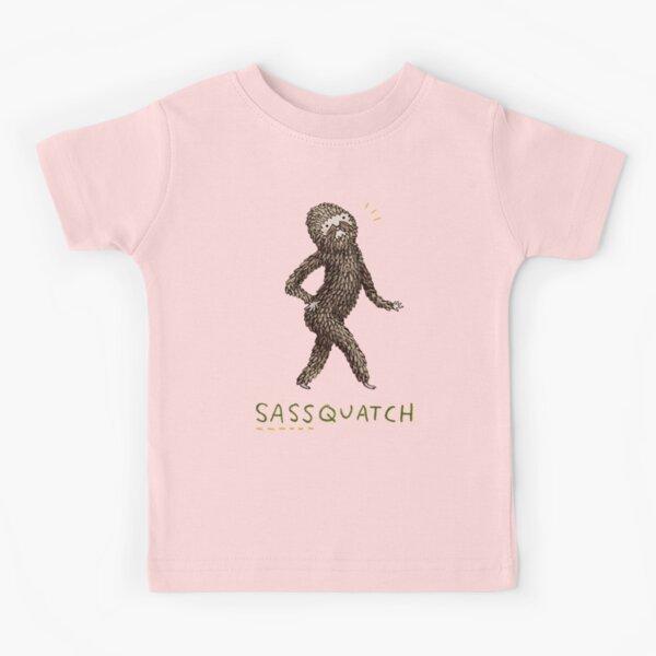 Sassquatch Kids T-Shirt