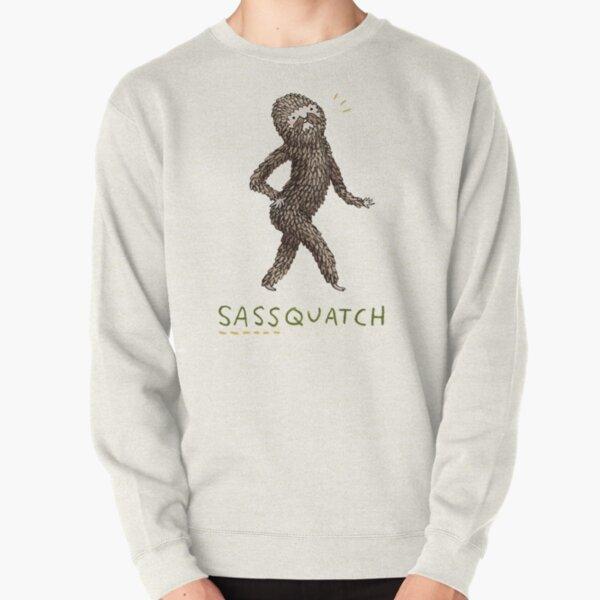 Sassquatch Pullover Sweatshirt