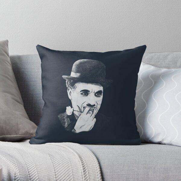 Chaplin white Cojín