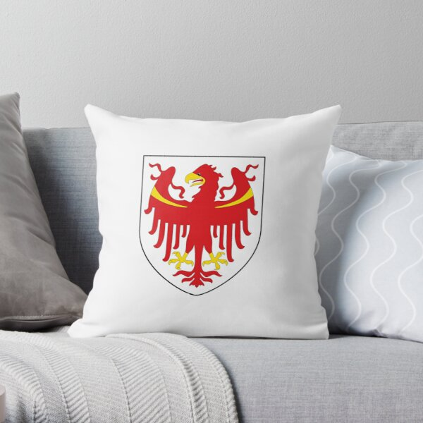 044 - PROVINCE OF BOLZANO - COAT OF ARMS Throw Pillow