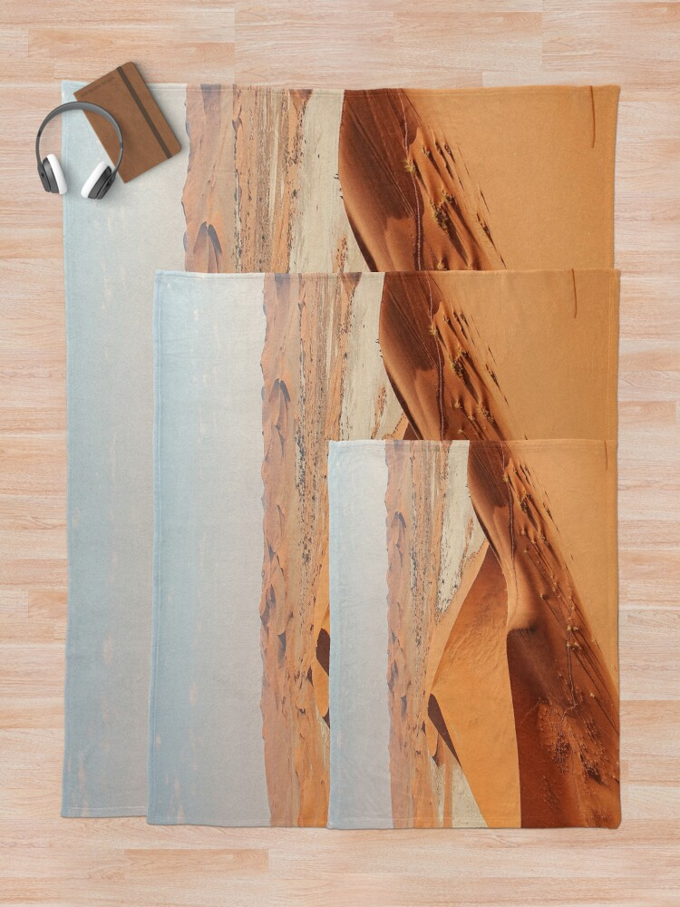 Alternate view of Desertscape Dunes Throw Blanket