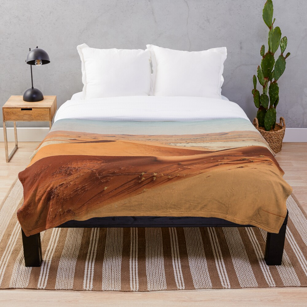 Desertscape Dunes Throw Blanket