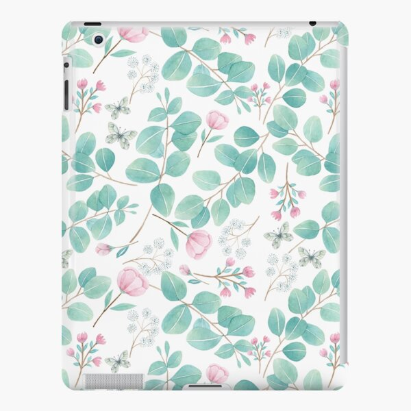 eucalypto and pink flower iPad Snap Case