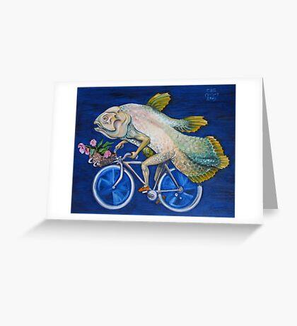 Coelacanth Greeting Card
