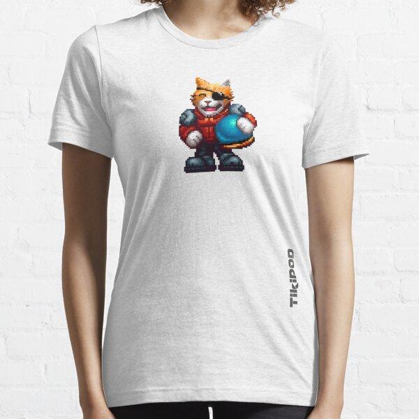 AQUA KITTY - Pilot small Essential T-Shirt