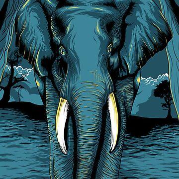 Elephant by denisosulli