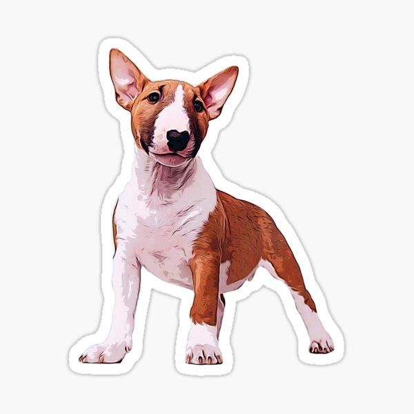 Bull Terrier Mini Cachorro Pegatina