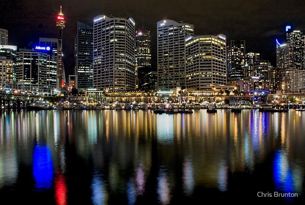 City lights by Chris Brunton
