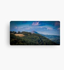 Landscape Wales United Kingdom Canvas Print