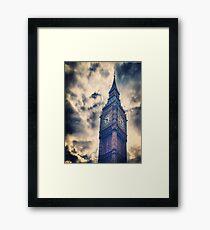 Big City Sky Framed Print