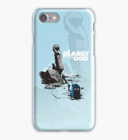 PLANET OF THE OOD iPhone Case/Skin