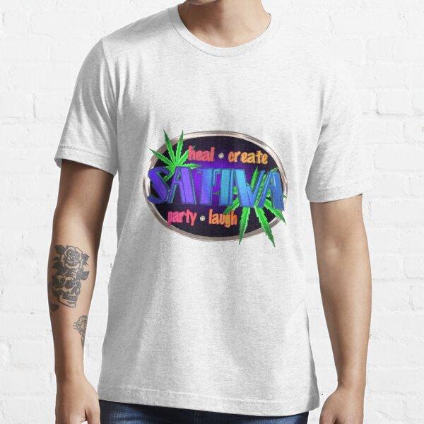 Sativa marijuana  Essential T-Shirt