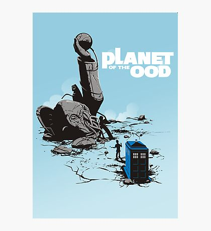PLANET OF THE OOD Photographic Print
