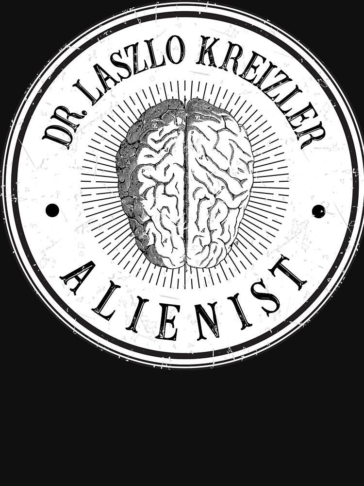 Dr Laszlo Kreizler Sign The Alienist by Bevatron