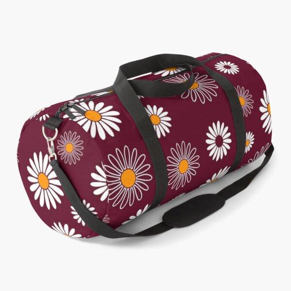 Daisy Flower Pattern Duffle Bag