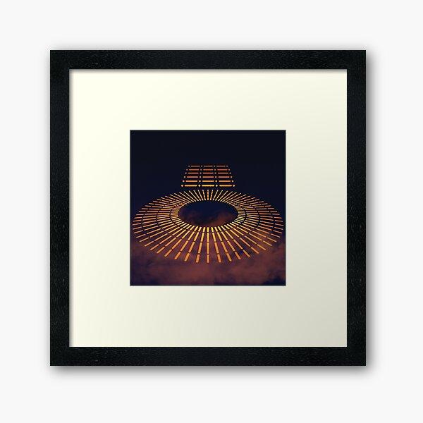 Carbon-freezing Chamber Framed Art Print
