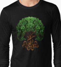 Celtic Tree of Life Knotwork Long Sleeve T-Shirt