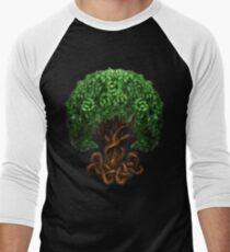 Celtic Tree of Life Knotwork Men's Baseball ¾ T-Shirt