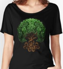 Celtic Tree of Life Knotwork Women's Relaxed Fit T-Shirt