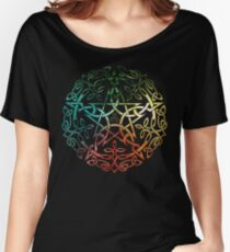 Elemental Celtic Knotwork Pentacle Women's Relaxed Fit T-Shirt