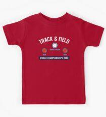 Track & Field World Championships Kids Tee