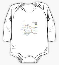 Bioshock Infinite - Columbia Sky-Line Map Kids Clothes