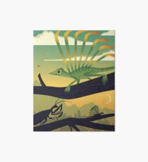 Longisquama Sunset Art Board