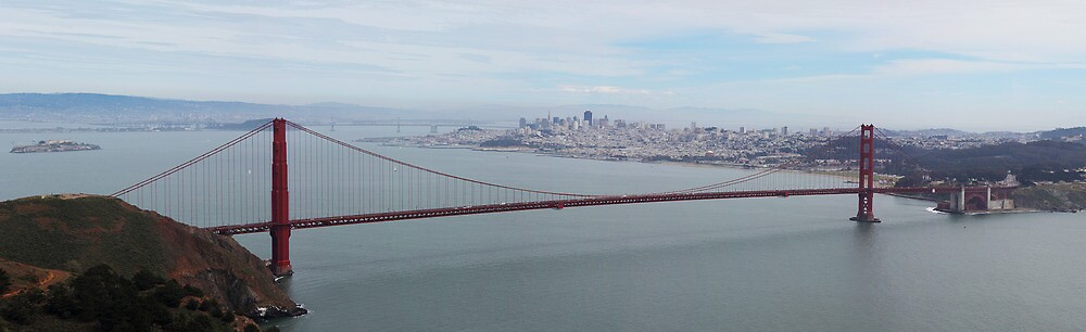 The Golden Gate by TERRIBLETRISTAN