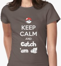 Catch 'em All! Women's Fitted T-Shirt