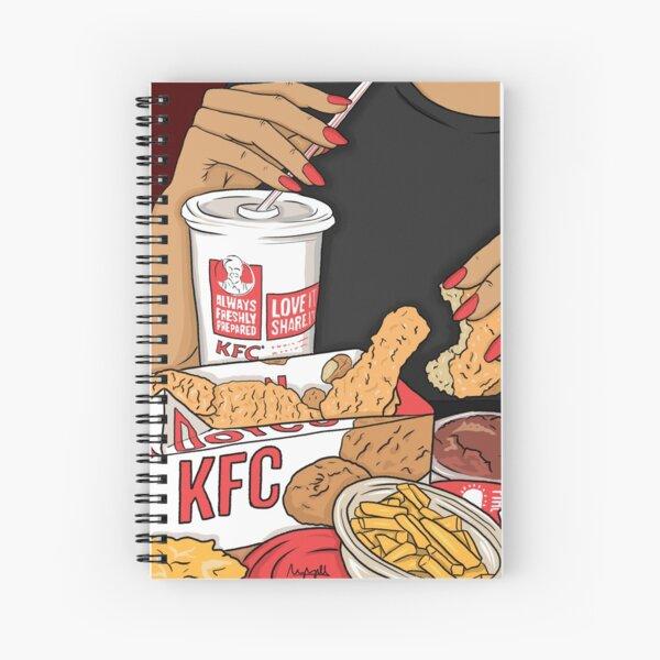 KFC Spiral Notebook