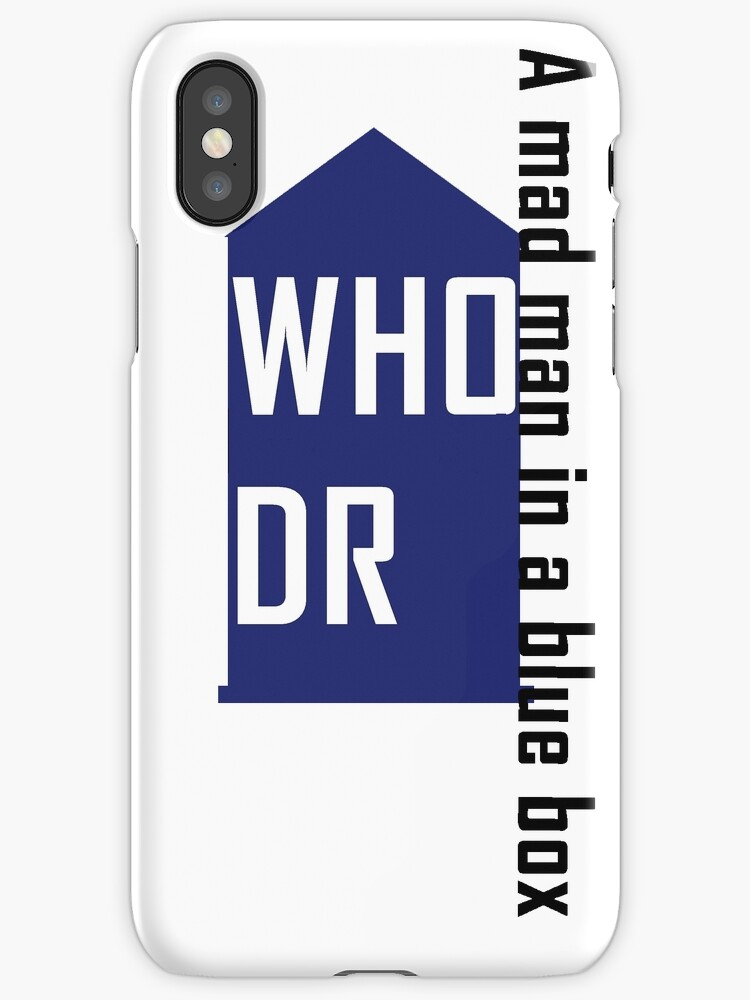 Dr WHO  a mad man in a blue box by Alrescha