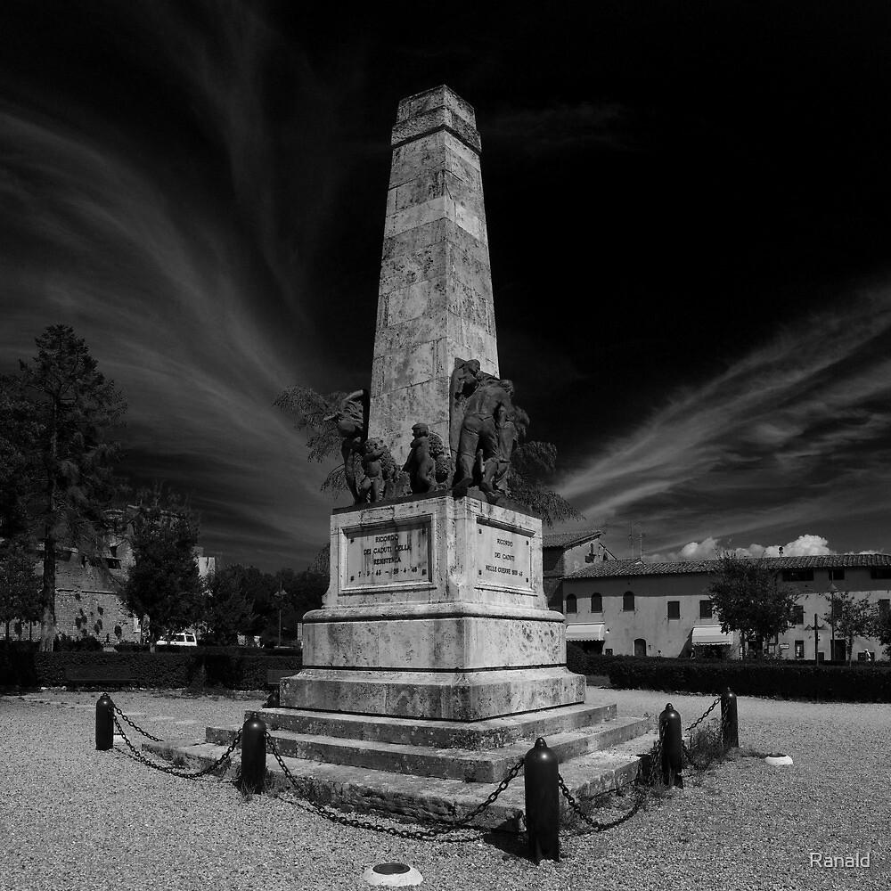 Ricordo dei caduti by Ranald