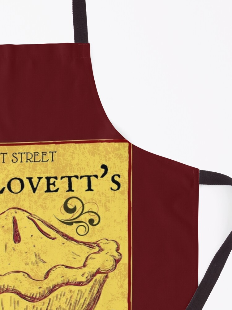 Alternate view of Mrs Lovett's Meat Pies - Sweeney Todd Musical Apron