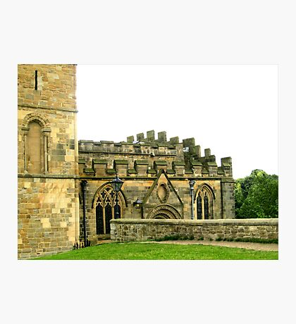 Durham Cathedral - Side Fotodruck